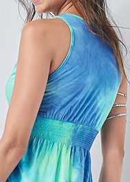 Alternate View Tie Dye Maxi Dress