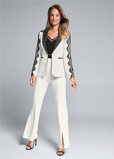 Lace Detail Suit Set