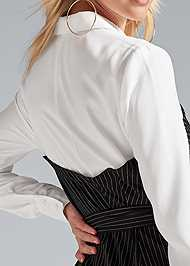 Alternate View Pinstripe Dress