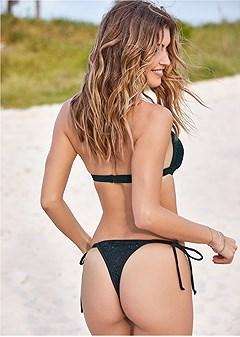 sequin thong bottom