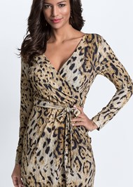 Detail  view Leopard Printed Dress