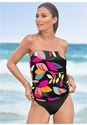 Front View Blouson Tankini Top