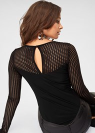 Alternate View Mesh Detail Top