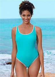 Front View Sporty One-Piece