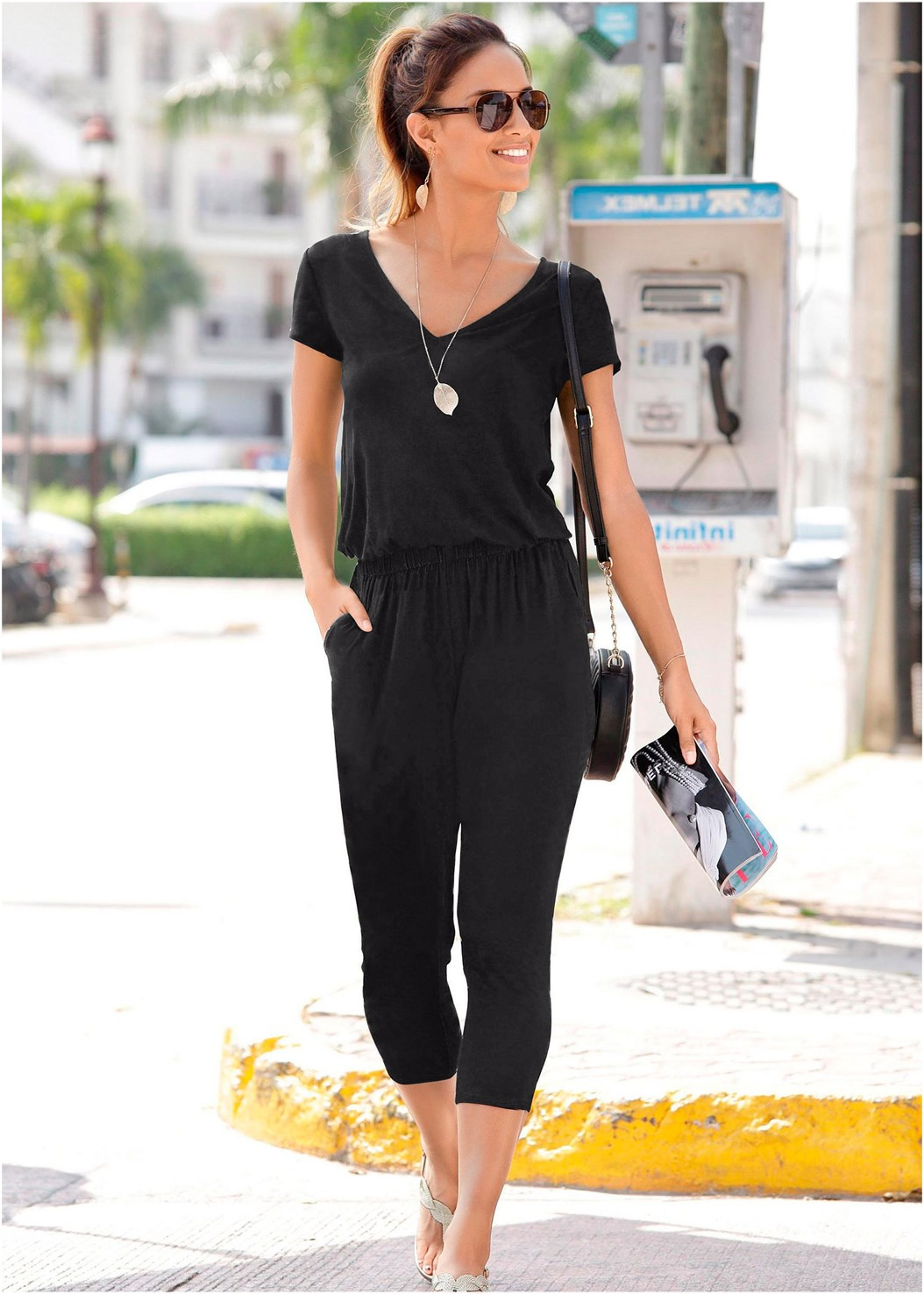 Casual Jumpsuit,Cherry Sandal