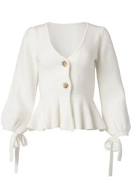 Alternate View Peplum Cardigan
