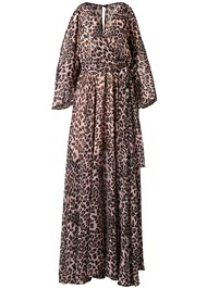 Alternate View Animal Print Long Dress