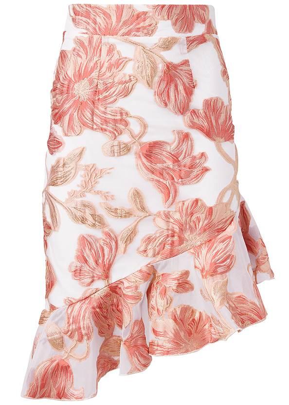 Alternate View Floral Skirt
