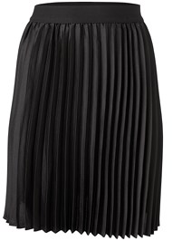 Ghost with background  view Pleated Mini Skirt