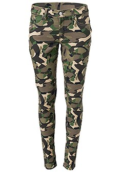 plus size color skinny jeans