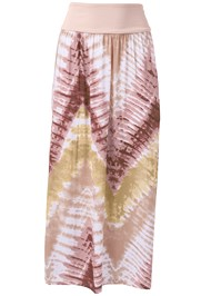 Alternate View Batik Printed Maxi Skirt