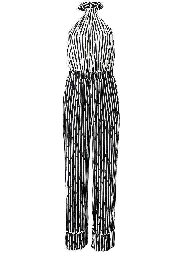 Alternate View Stripe Jumpsuit