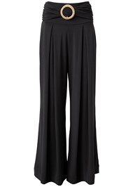 Ghost with background  view Wide Leg Cover-Up Pants