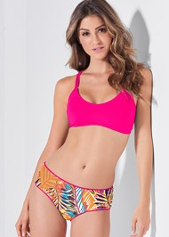 Full front view Versatility By Venus™ Reversible Cheeky Boyshorts