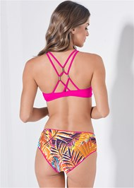 Full back view Versatility By Venus™ Reversible Cheeky Boyshorts