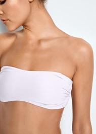 Detail front view Versatility By Venus™  Reversible Bandeau Top