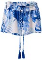Alternate View Tassel Tie Cover-Up Shorts