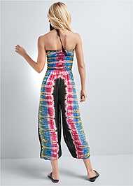Alternate View Tie Dye Smocked Jumpsuit