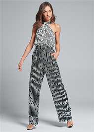 Alternate View Stripe Jumpsuit
