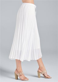 Waist down side view Pleated Pant