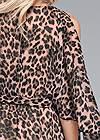 Alternate View Animal Print Long Dress