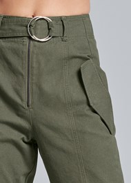 Alternate View High Waist Belted Pants