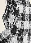 Alternate View Sparkle Plaid Long Cardigan