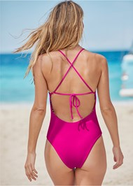 Alternate View Versatility By Venus™ Reversible One-Piece