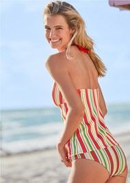 Full back view Rincon Rib Tankini