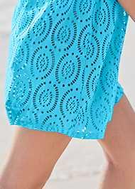 Alternate View Crochet Dolman Cover-Up
