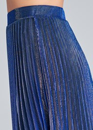 Alternate View Pleated Maxi Skirt