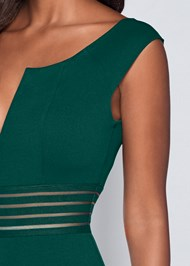 Alternate View Waist Detail Dress