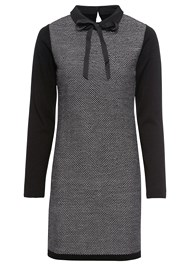 Alternate View Bow Detail Sweater Dress