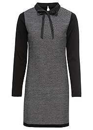 Alternate View Bow Detail Sweater Dress