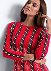 Detail  view Striped Sweater Dress