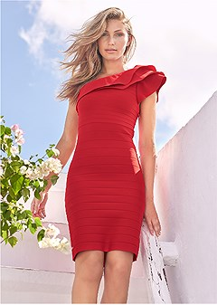 slimming bodycon dress
