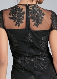 Alternate View Wide Leg Lace Jumpsuit