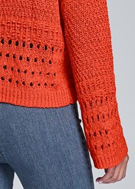 Alternate View Bell Sleeve Sweater