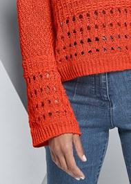 Alternate View Bell Sleeve Sweater