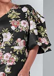 Alternate View Floral One Shoulder Dress