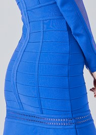 Alternate View Mesh Bandage Dress