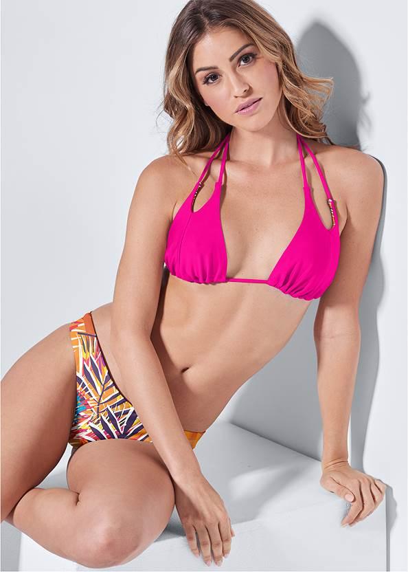 Versatility By Venus™ Reversible Split Triangle,Roman Cover-Up Beach Dress