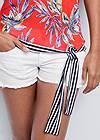 Alternate View Tie Detail Printed Top