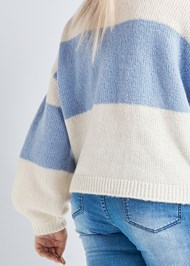 Back View Oversized Sweater