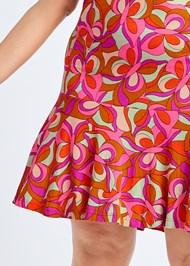Alternate View Printed Flounce Dress