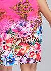 Alternate View Printed Bodycon Dress
