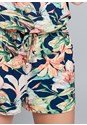 Alternate View Floral Printed Romper