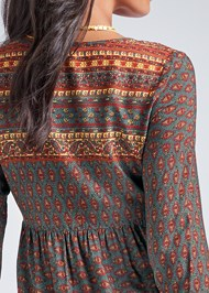 Alternate View Boho Printed Top
