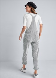 Alternate View Chenille Lounge Overalls