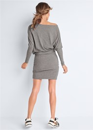 Back View Dolman Sleeve Lounge Dress